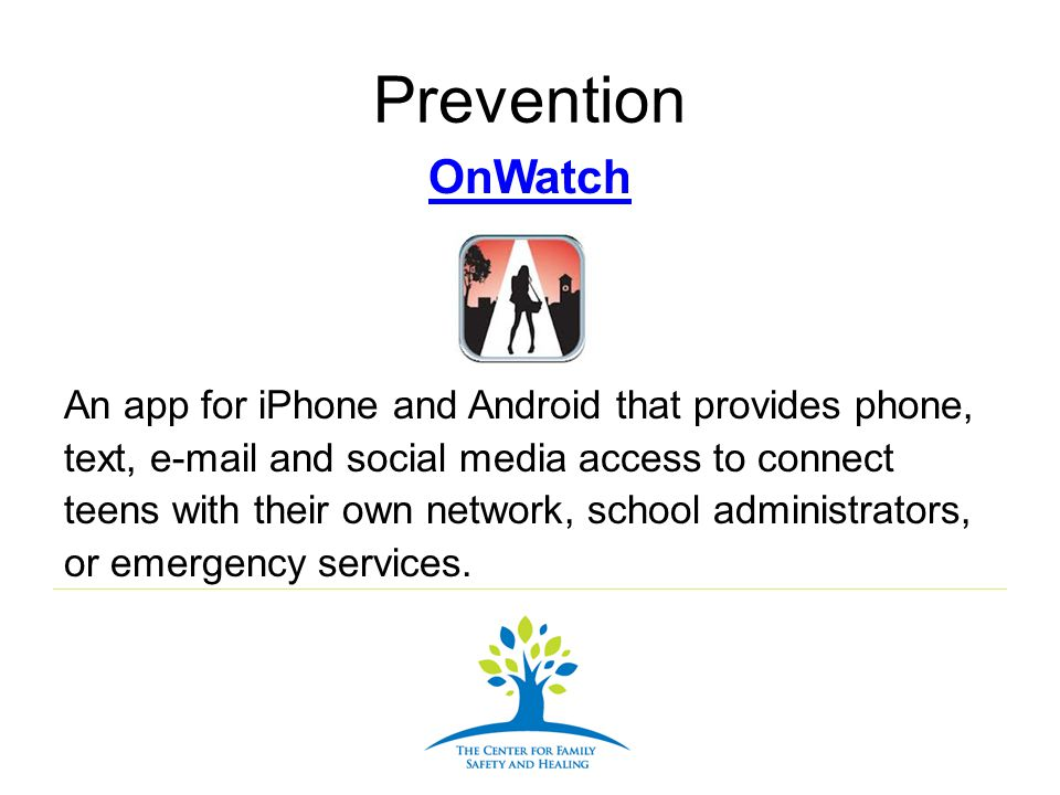 Prevention OnWatch.