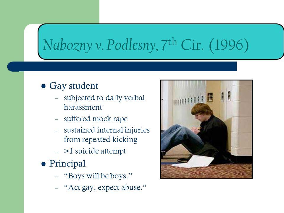 Nabozny v. Podlesny, 7th Cir. (1996)