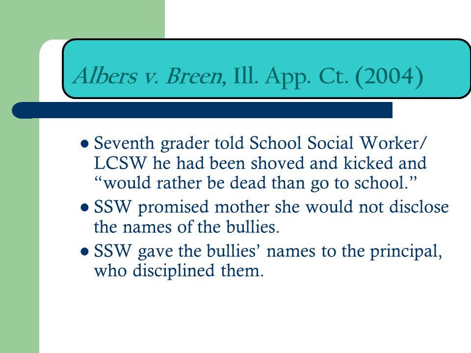 Albers v. Breen, Ill. App. Ct. (2004)
