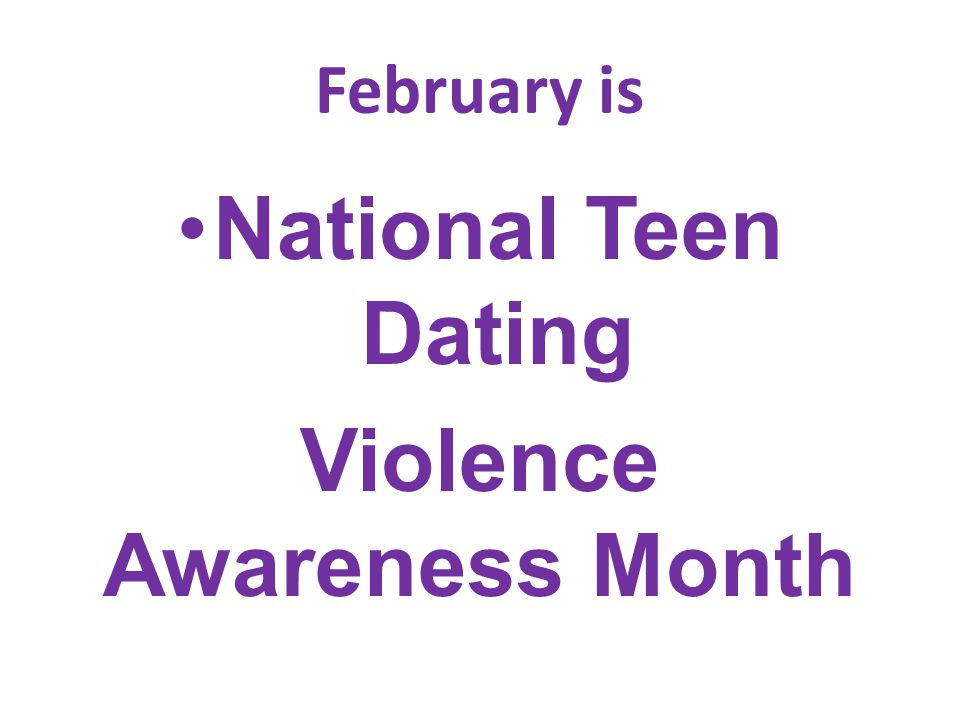 Violence Awareness Month