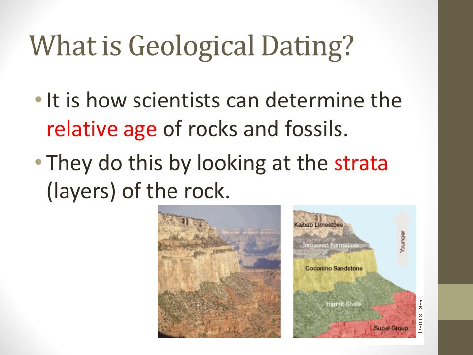 What is Geological Dating