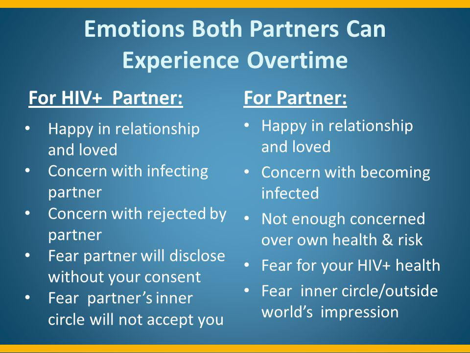 Emotions Both Partners Can Experience Overtime