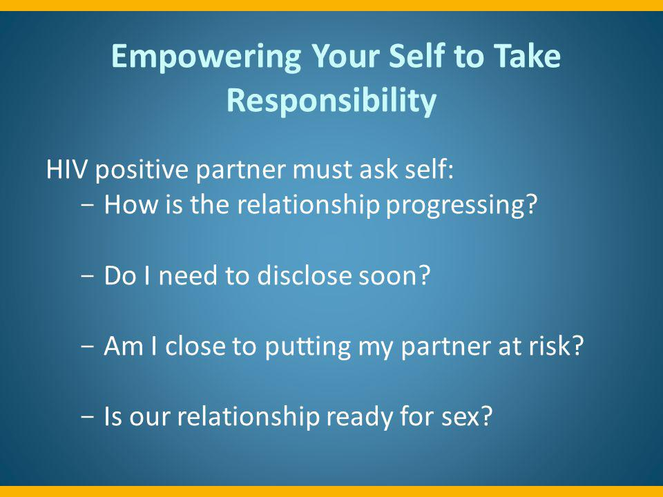 Empowering Your Self to Take Responsibility