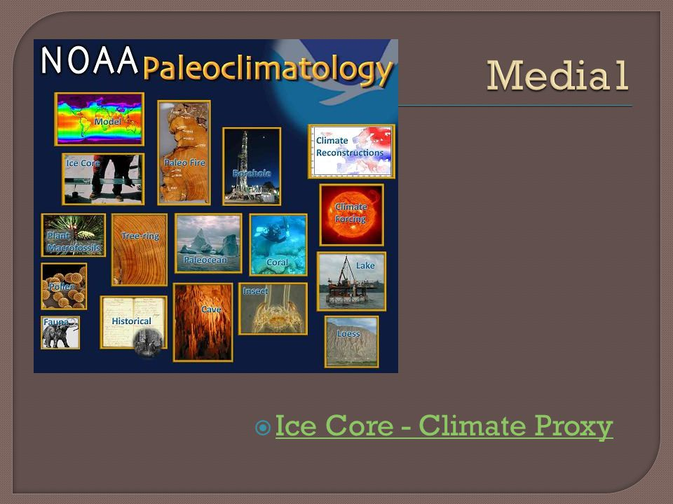 Media1 Ice Core - Climate Proxy