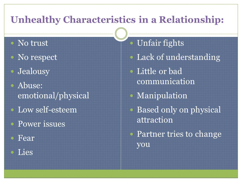 Top Characteristics of a Healthy Relationship