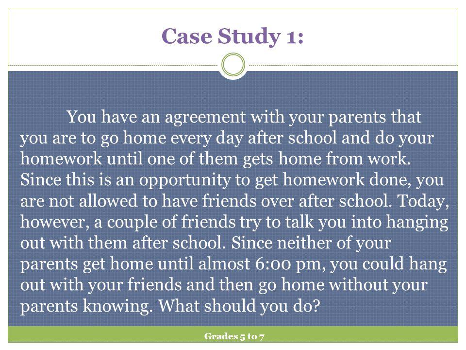 Case Study 1: