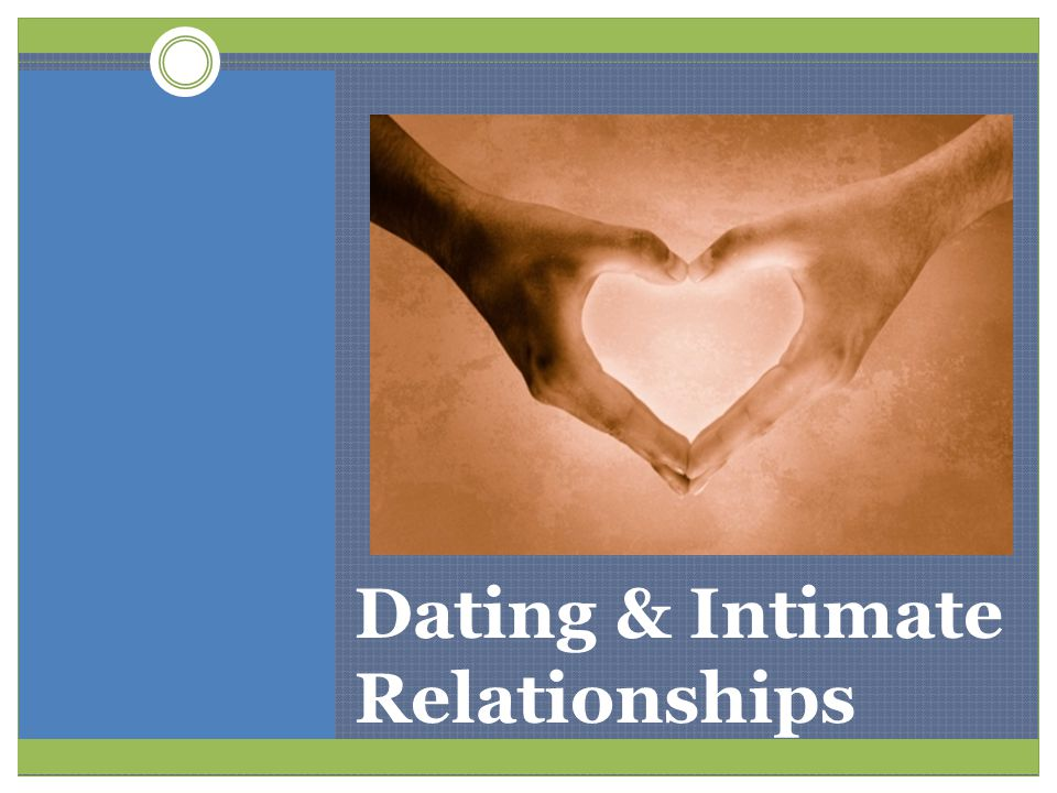 Dating & Intimate Relationships