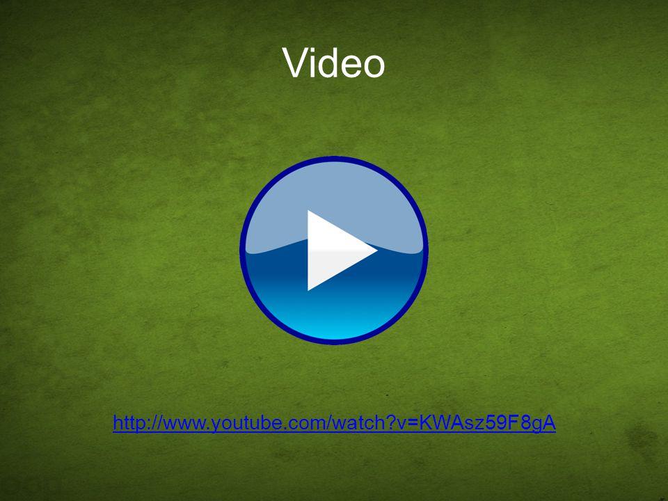 Video http://www.youtube.com/watch v=KWAsz59F8gA