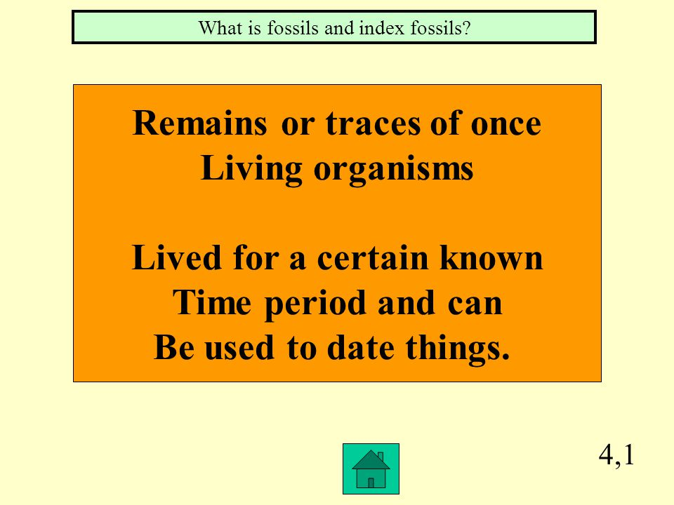 Remains or traces of once Lived for a certain known