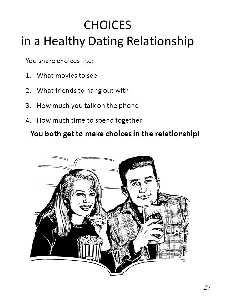 CHOICES in a Healthy Dating Relationship