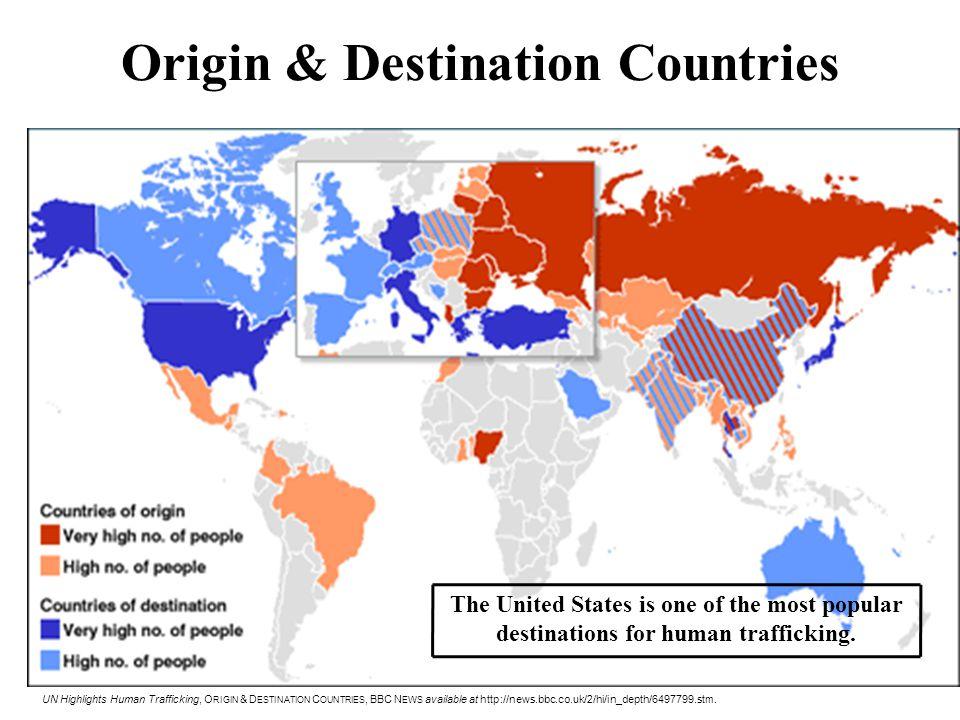 Origin & Destination Countries