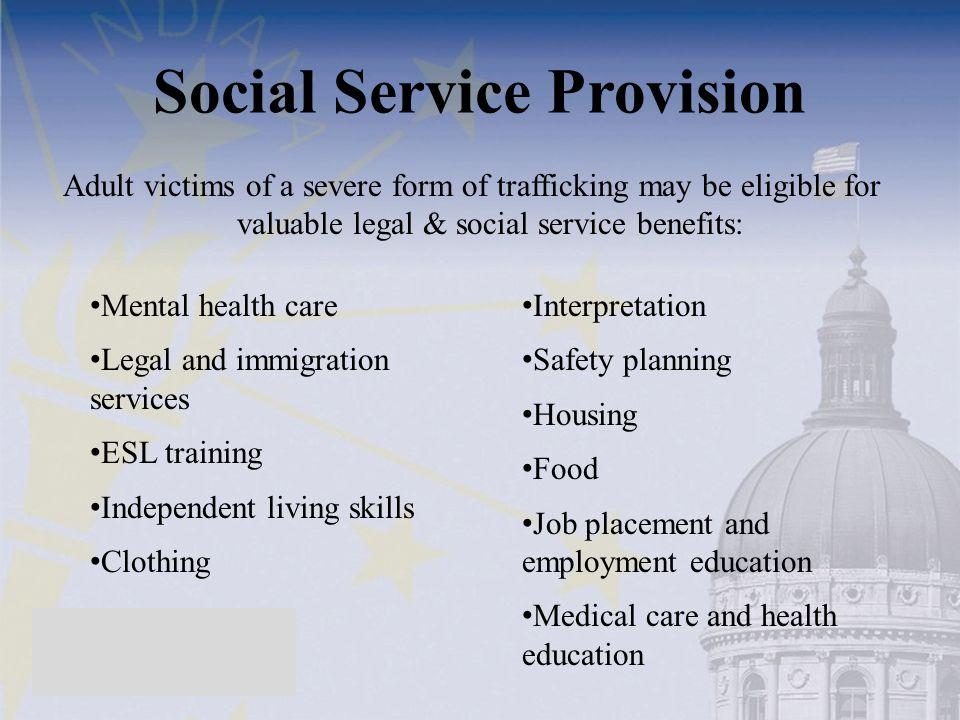 Social Service Provision