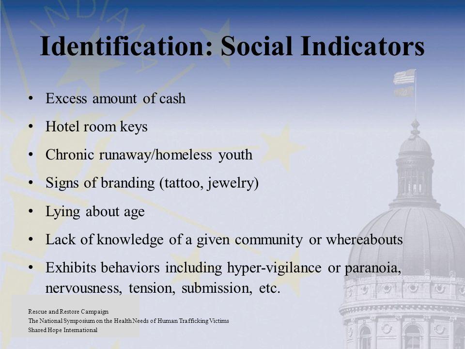 Identification: Social Indicators