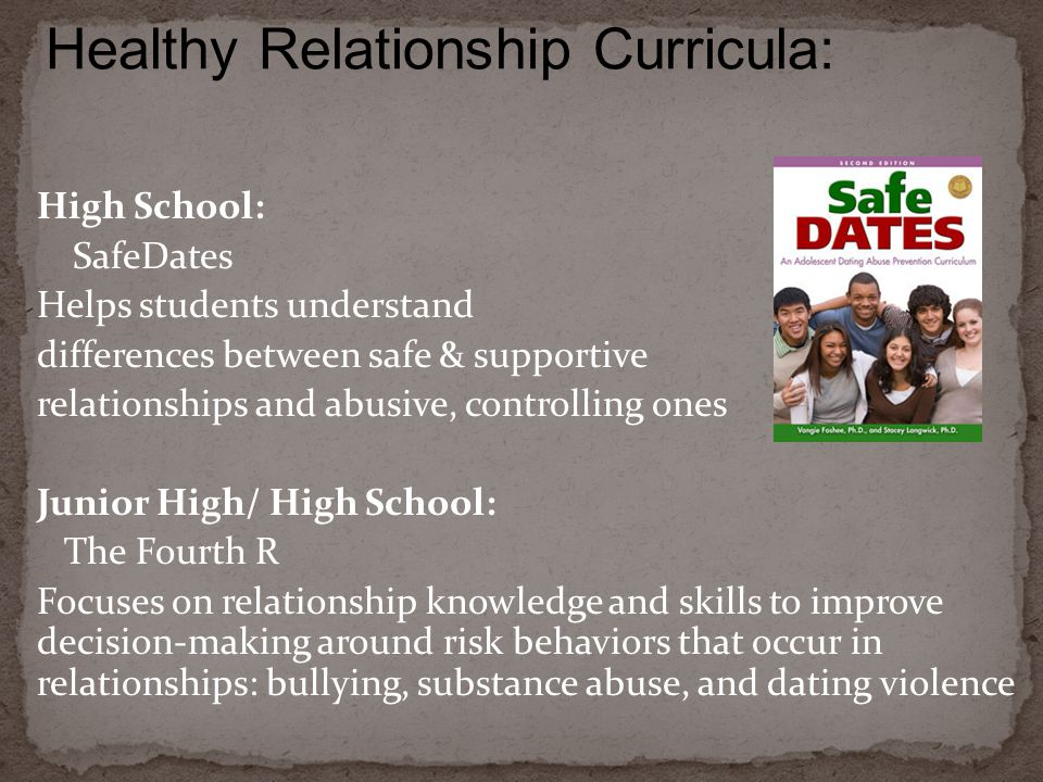 Healthy Relationship Curricula: