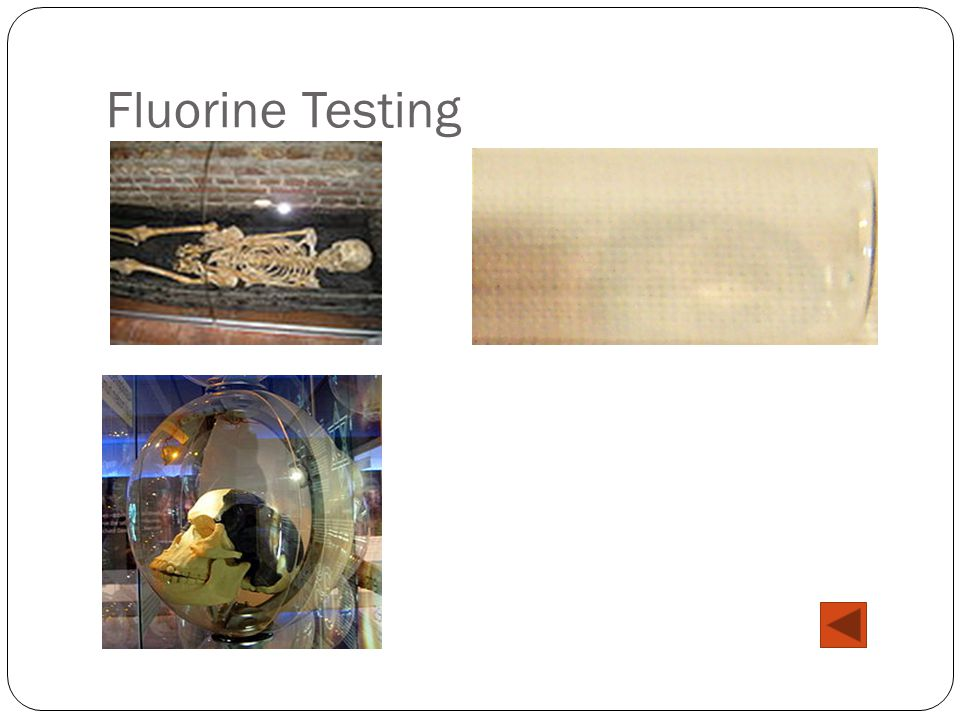 Fluorine Testing