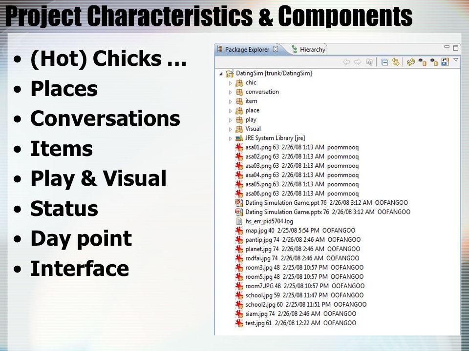 Project Characteristics & Components