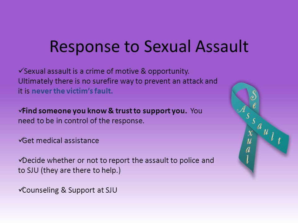 Response to Sexual Assault