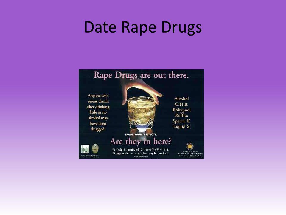 Date Rape Drugs