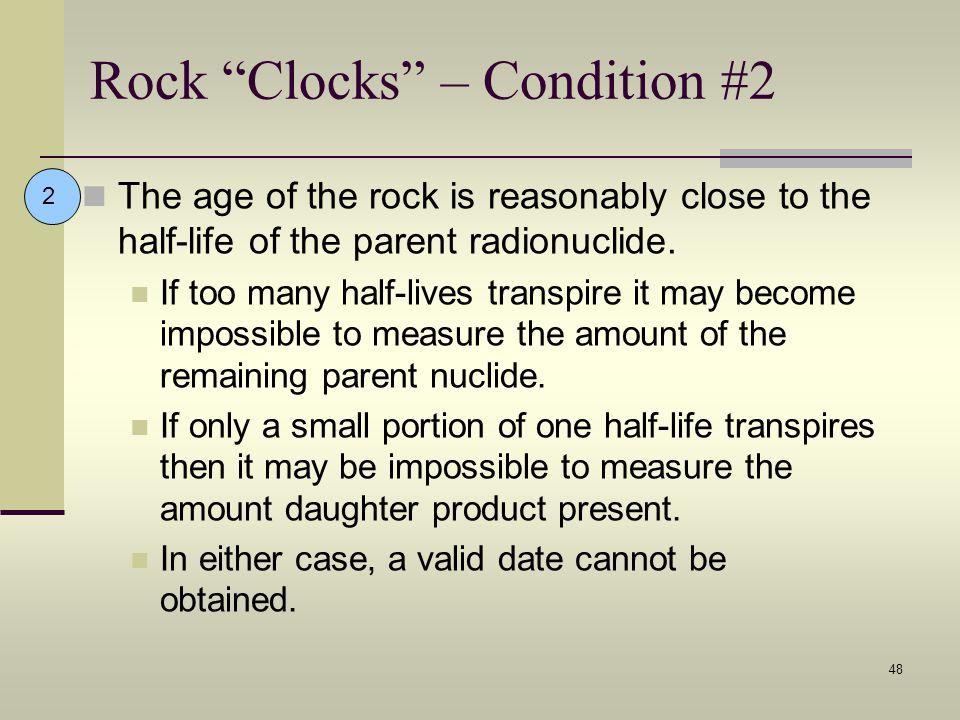 Rock Clocks – Condition #2