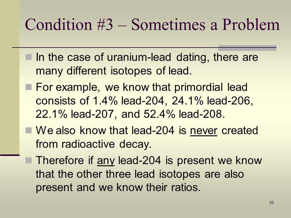 Uranium lead dating range 5