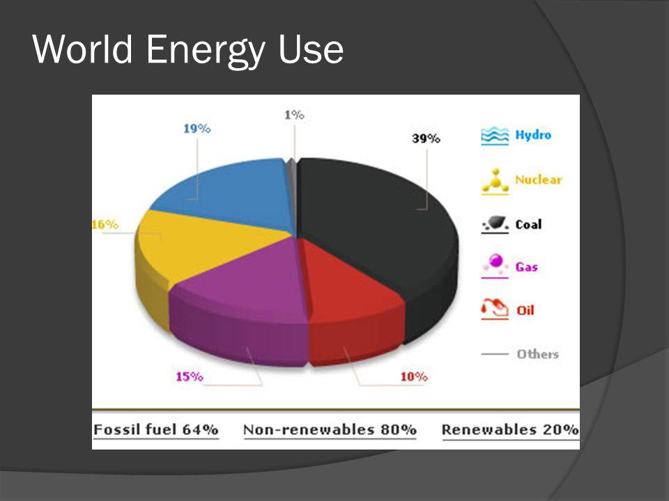 World Energy Use
