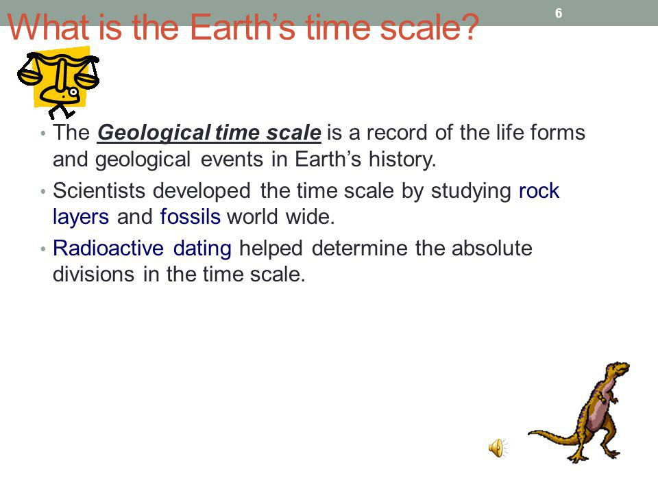 What is the Earth's time scale