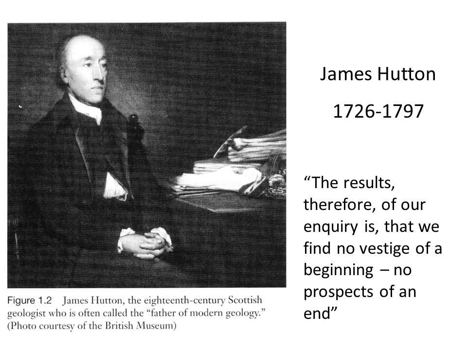 James Hutton 1726-1797.