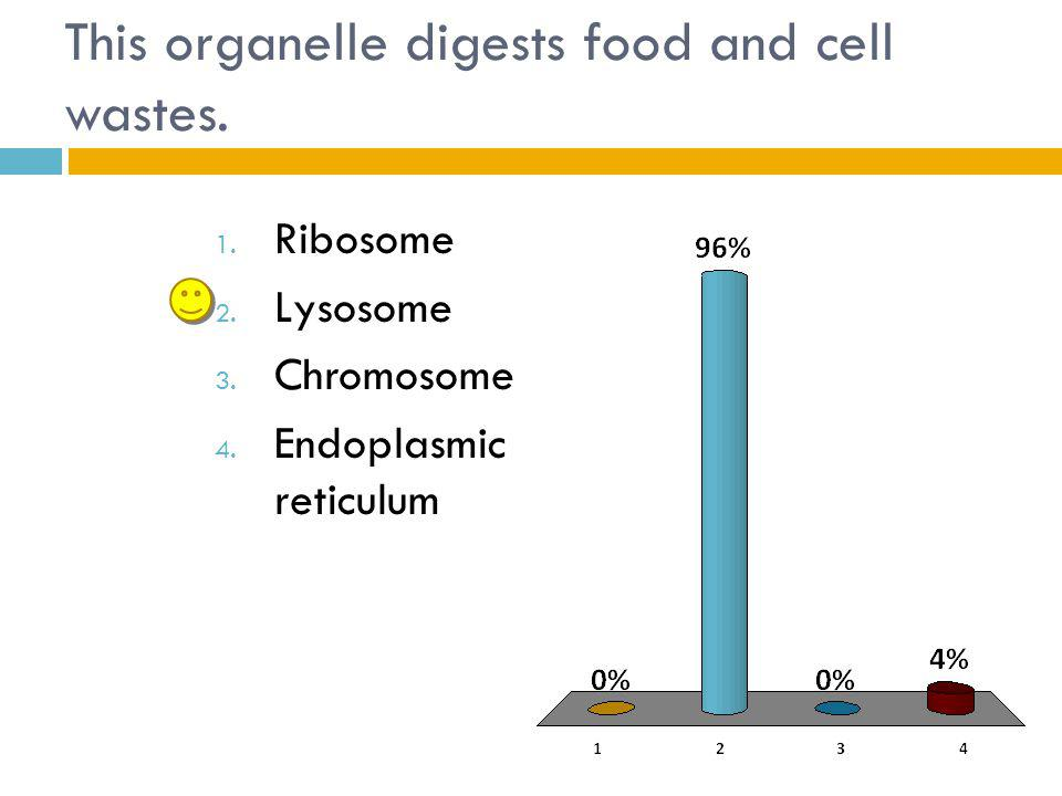 This organelle digests food and cell wastes.