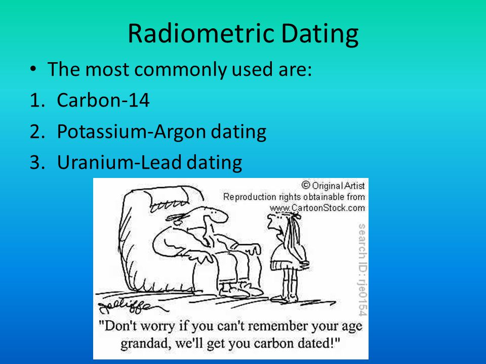 What was used before radiometric dating
