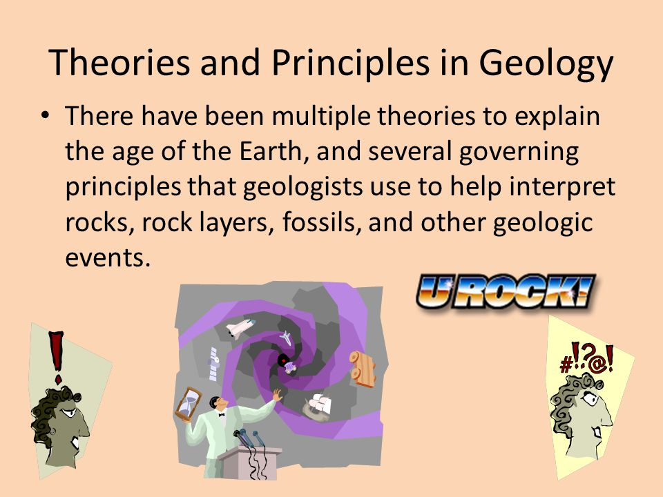Theories and Principles in Geology