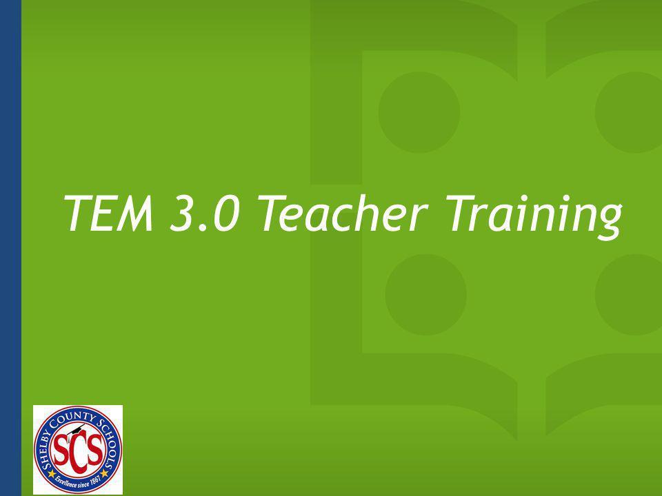 TEM 3.0 Teacher Training 1 minute