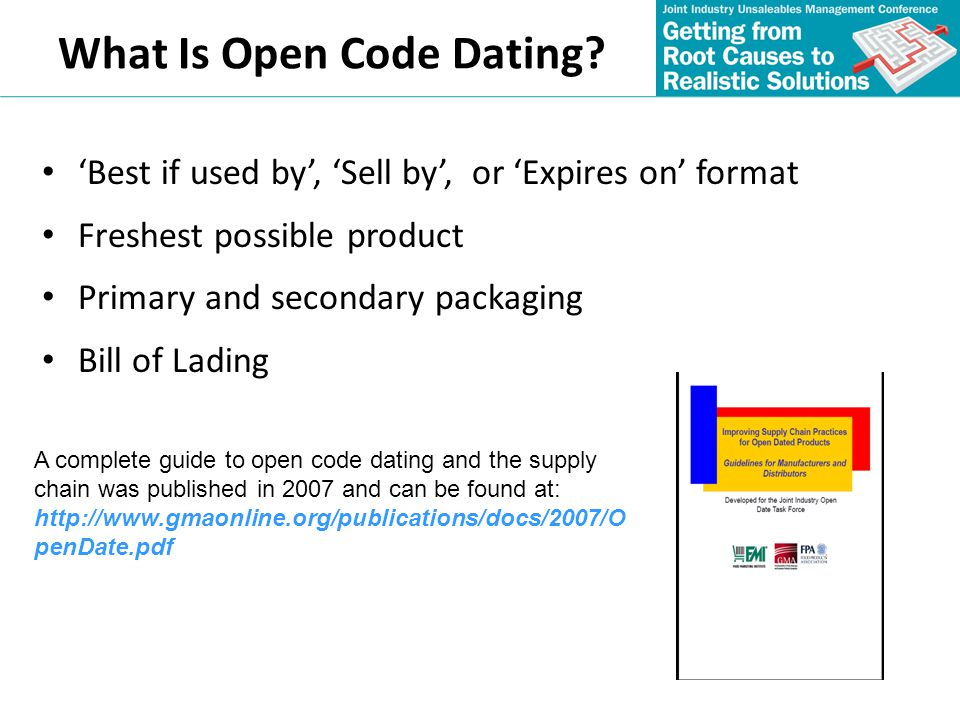 What Is Open Code Dating