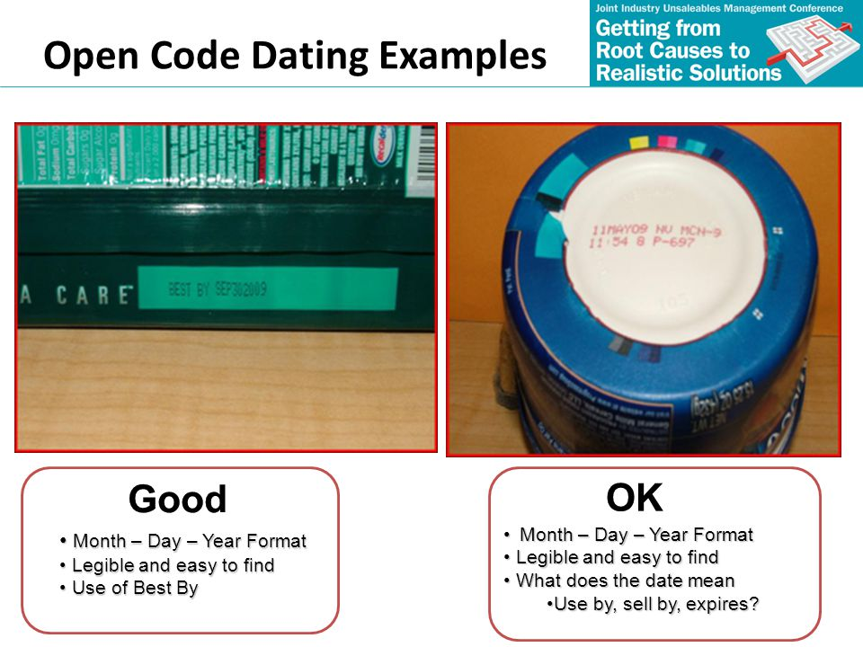 Open Code Dating Examples