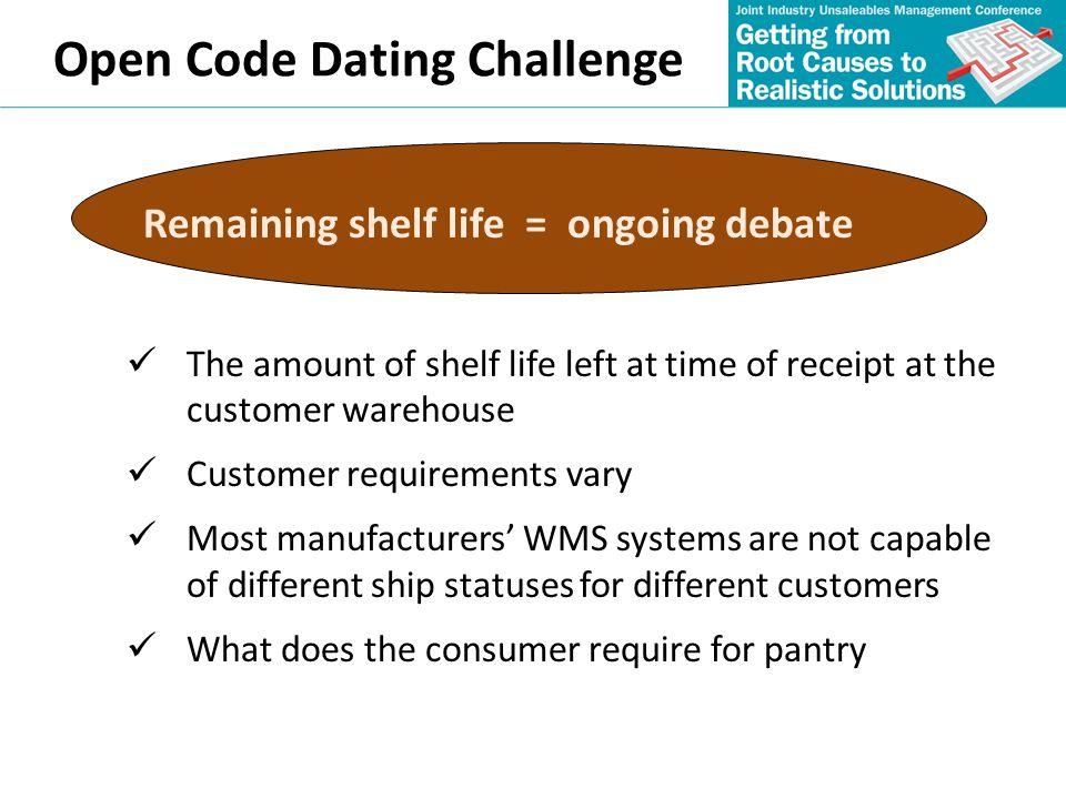 Open Code Dating Challenge