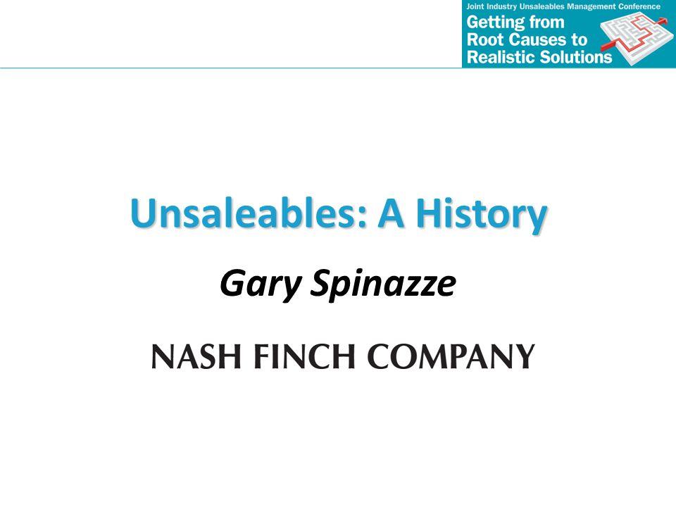 Unsaleables: A History
