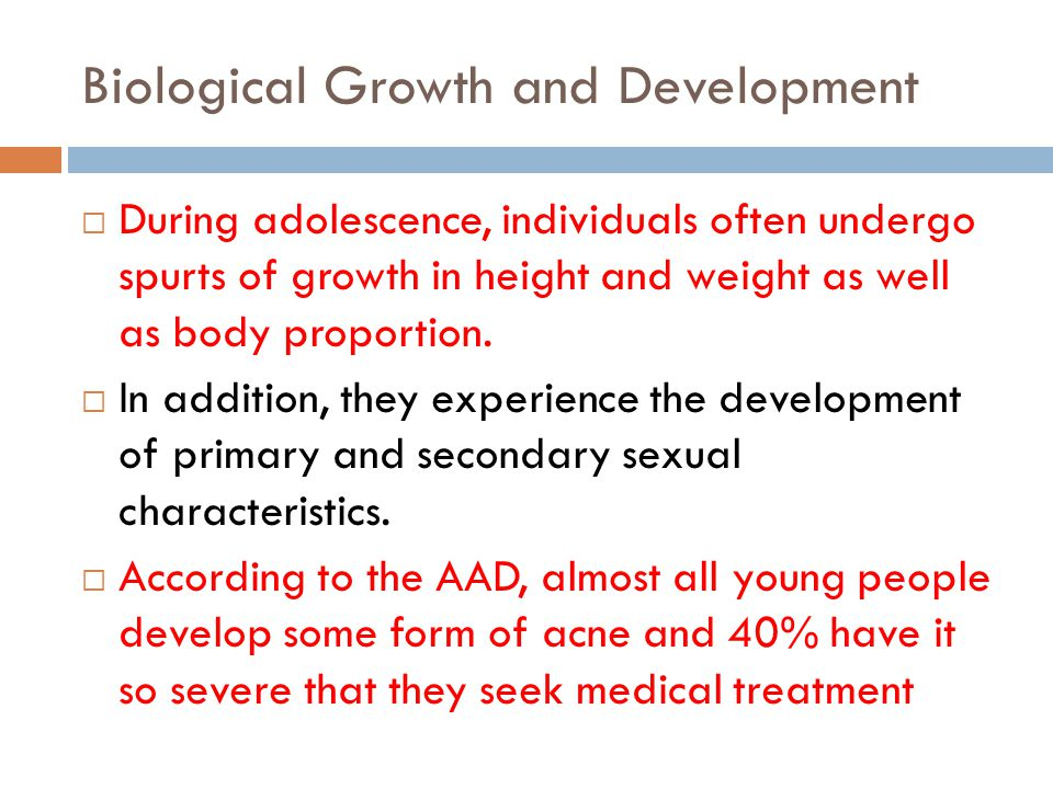 Biological Growth and Development