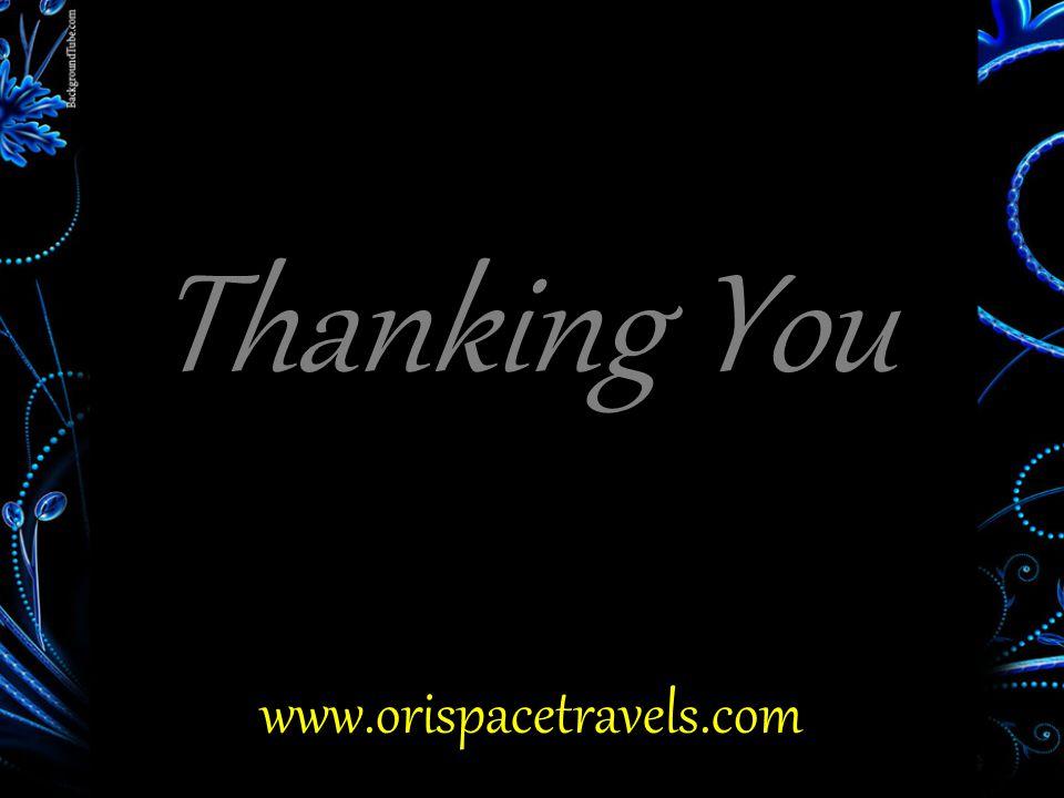 Thanking You www.orispacetravels.com