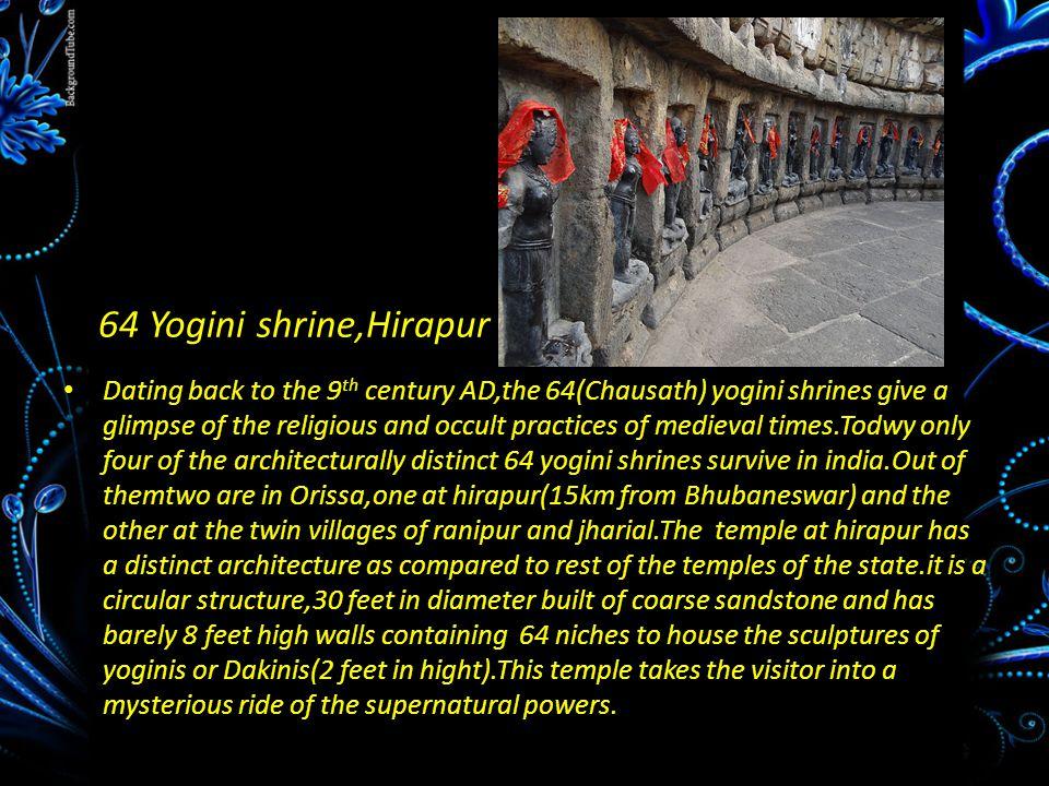 64 Yogini shrine,Hirapur