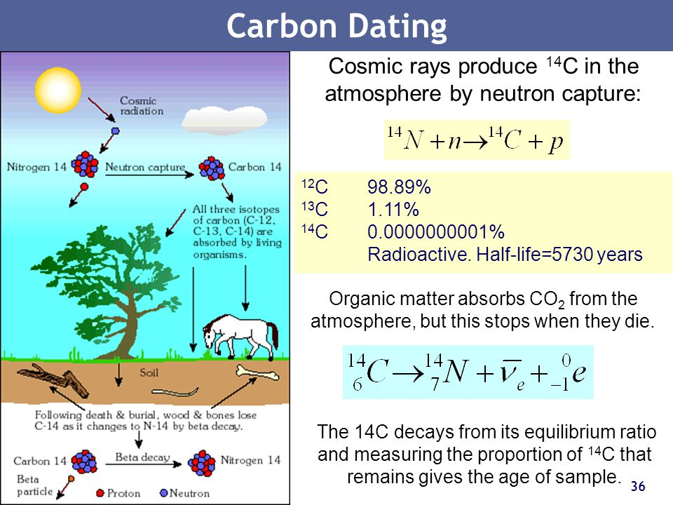carbon 14 dating half life