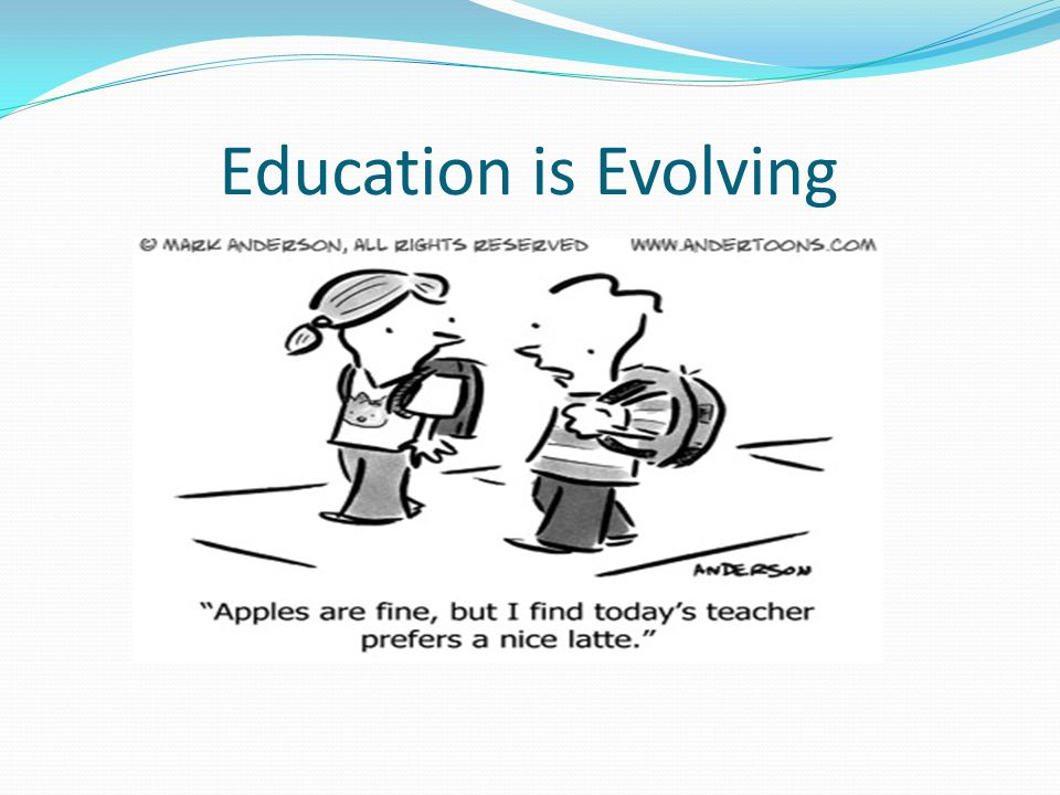 Education is Evolving
