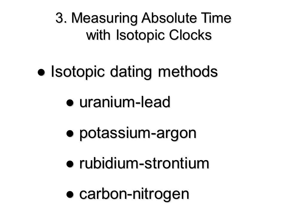 carbon nitrogen dating