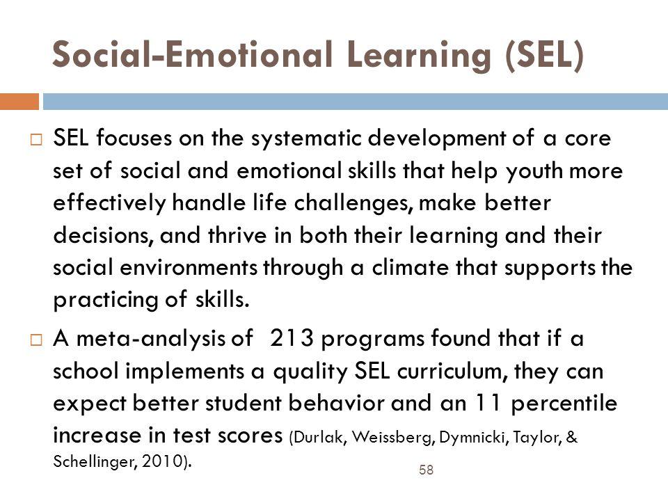 Social-Emotional Learning (SEL)