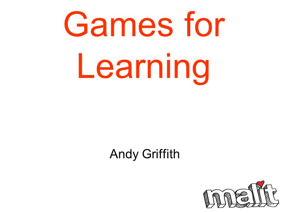 Games for Learning Andy Griffith