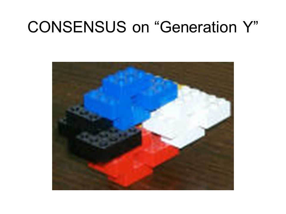 CONSENSUS on Generation Y