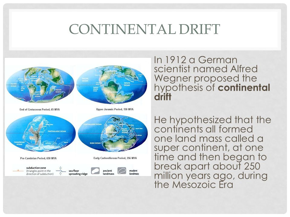 a comparison of continental drift and the odyssey Start studying byu-idaho fdsci201 preparation 1 learn a comparison of fossils on what is the fundamental difference between continental drift and plate.