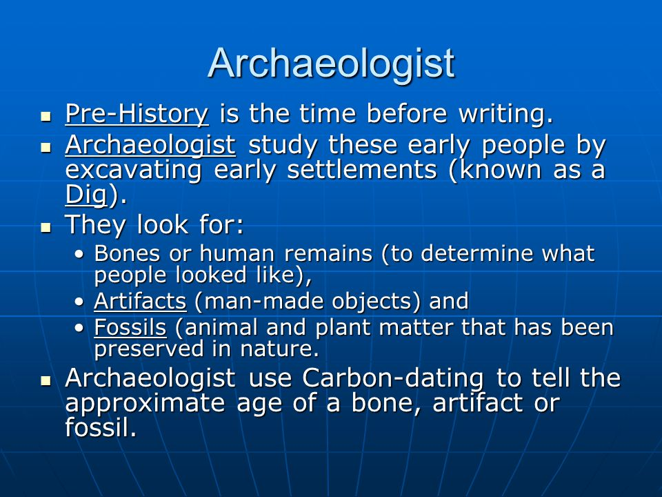What is carbon dating in history