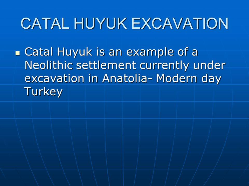 CATAL HUYUK EXCAVATION