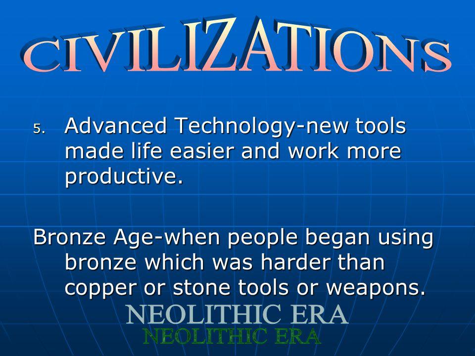 CIVILIZATIONS NEOLITHIC ERA