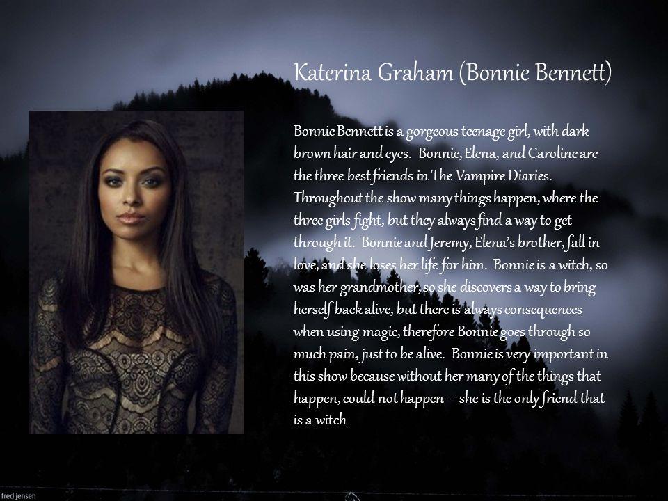 Katerina Graham (Bonnie Bennett)