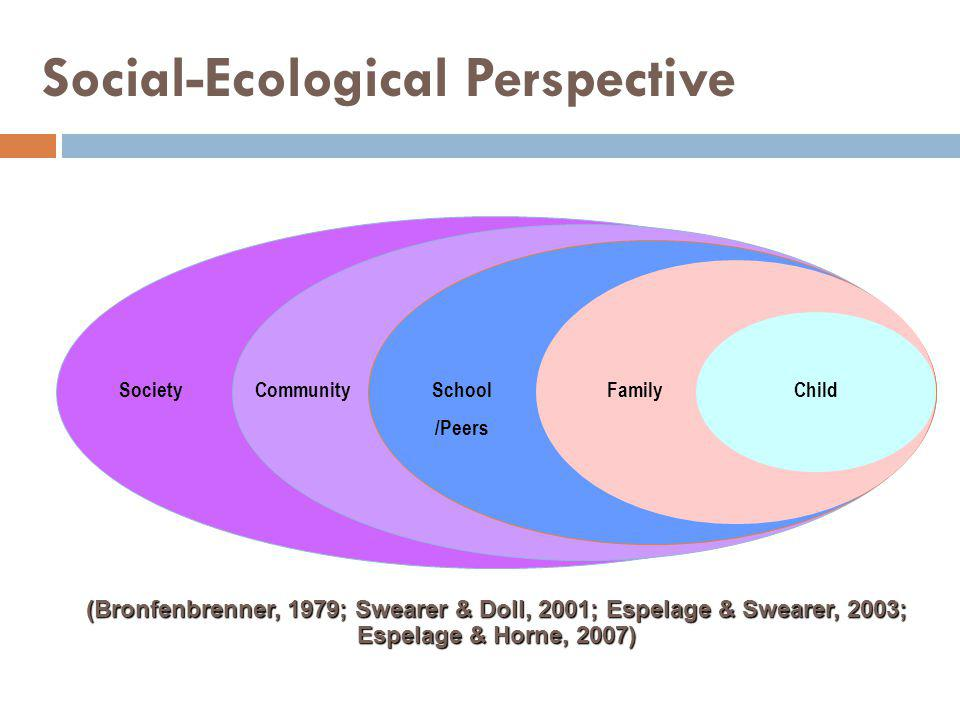 Social-Ecological Perspective